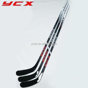 Pink Hockey Equipment Sale 3k Woven Senior Composite Hockey Sticks