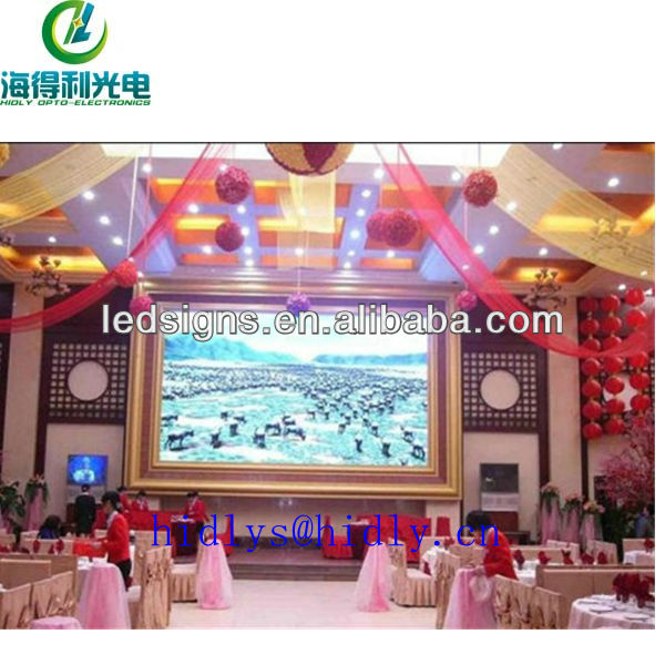 Hidly large stadium led display screen LED video board