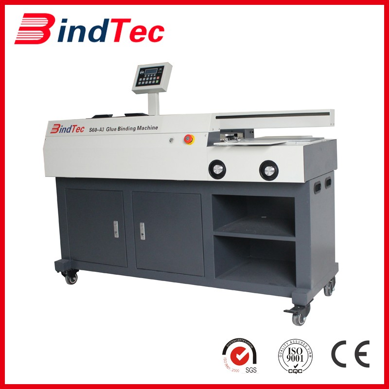 Automatic Perfect Book Binding Machine S60-a3 With Three