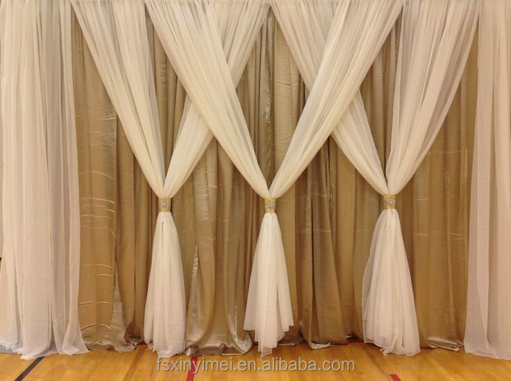 Delightful Factory Price Wedding Backdrop Curtains(professional Factory)