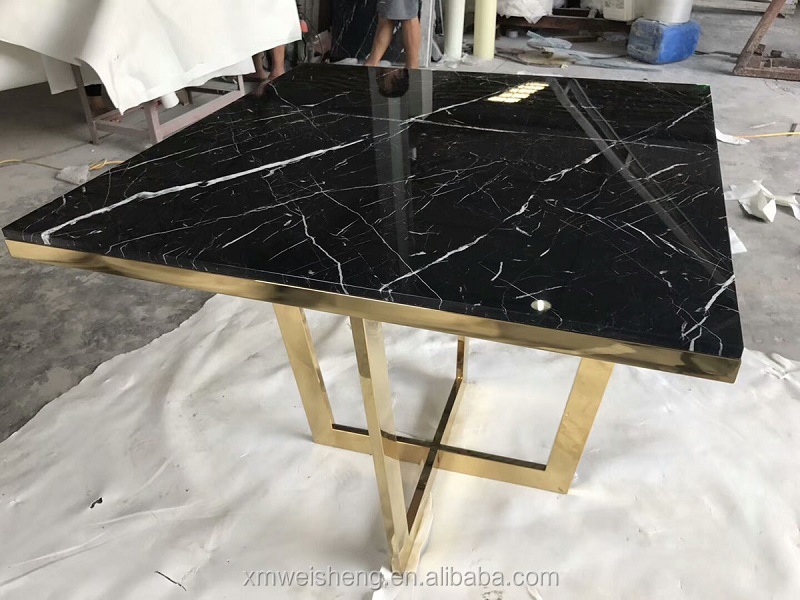 Marquina black marble countertops vanity double single sink 2cm thick polish