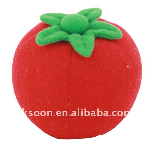 Apple Shape Stuffed plush soft balls