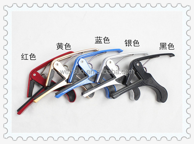 Hot selling Tune Quick Change Clamp Key Capo for Classical Acoustic Electric Guitar