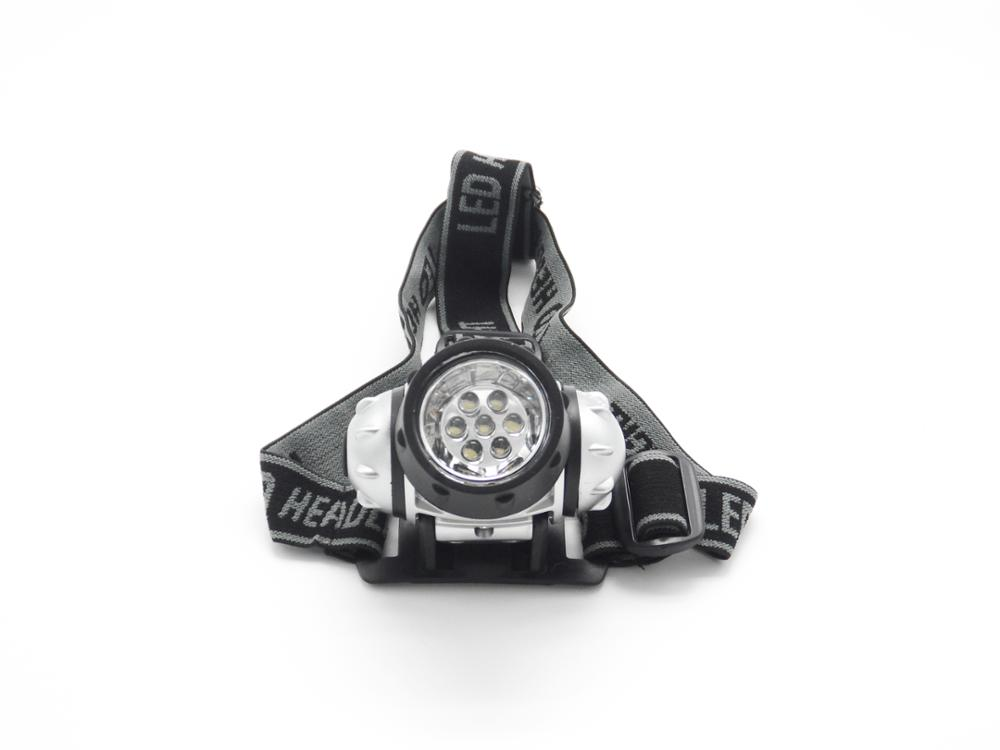 Cheap Outdoor 7LED Headlamp in Europe