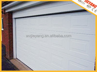 white color sectional garage door square style panel