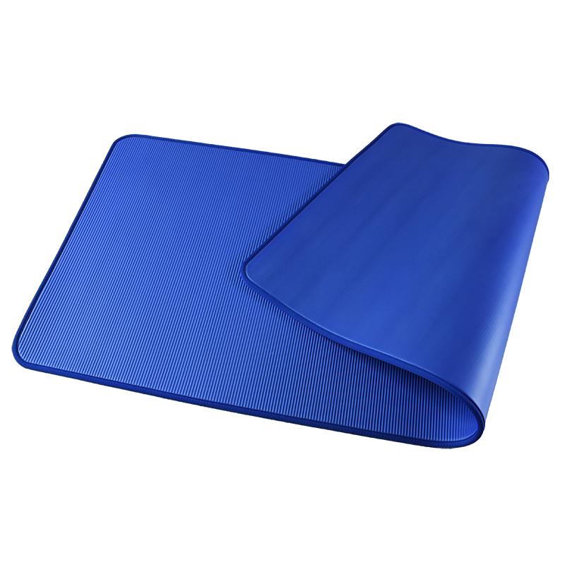 NBR travel yoga mat fitness