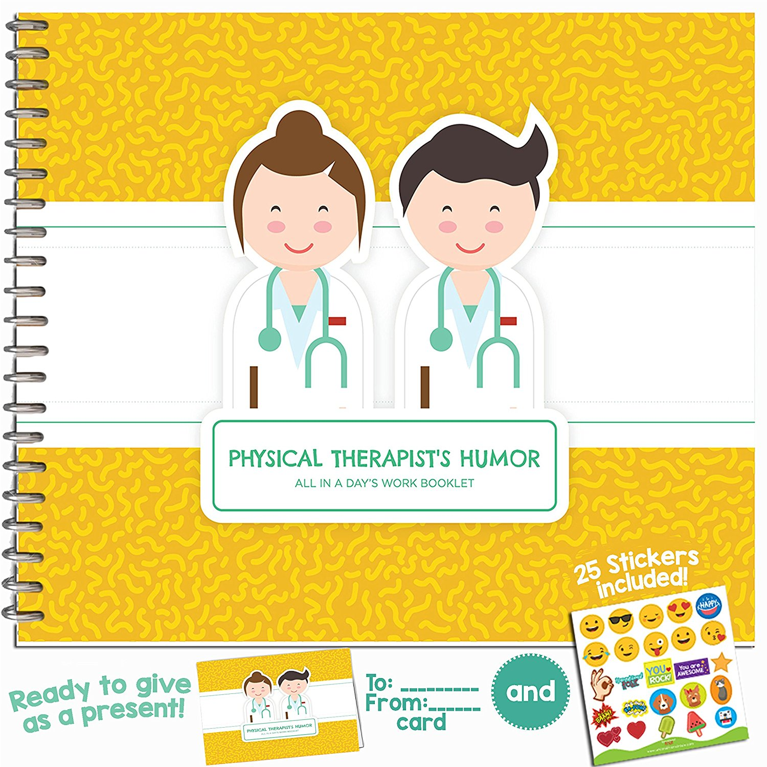 PHYSICAL THERAPIST GIFTS - Personalizable Humor Booklet With Card For Your Favorite Physiotherapist Chiropractor  sc 1 st  Alibaba.com & Buy PHYSICAL THERAPIST GIFTS - Personalizable Humor Booklet With ...