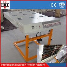 T-shirt screen printing infrared flash dryer