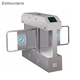 TCP/IP handicapped id card access control optical turnstile swing barrier gate