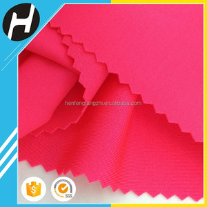 wholesale bikini knitted stretch lycra 80 nylon 20 spandex upf 50 fabric for swimwear and legging