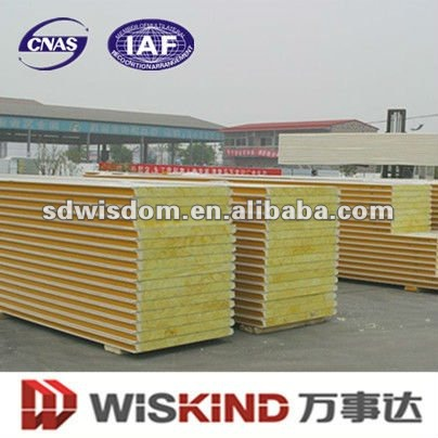 50mm Glass Wool Sandwich Roof Panels