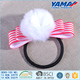 Korean fashion ponytail wholesale colorful custom elastic hair ties