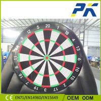 PK Kids Shooting Game Inflatable Soccer Darts Board Giant Inflatable Dart Sport Games