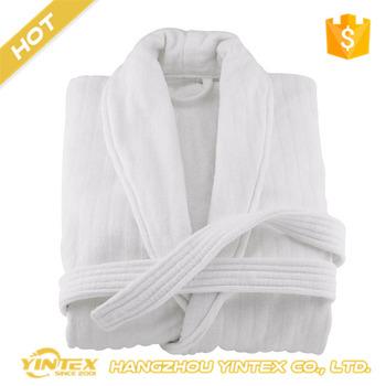 8f87090a65 Custom Logo Cotton Terry Hotel Bathrobe  sleepwear nightdress robe ...