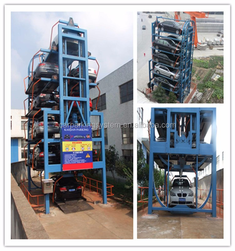 vertical smart rotary parking system multi layer smart vertical parking 12 cars vertical rotary parking system
