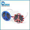 Colorful Peace Mark Party Glasses Peace Sunglasses
