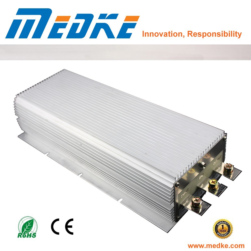 Waterproof dc dc voltage Converter 12V to 24V 80A 1920W for solar energy