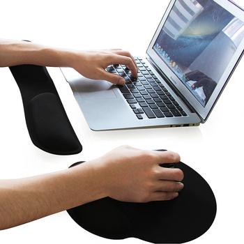 Custom Gel L Large Arm Rest Mouse Pad