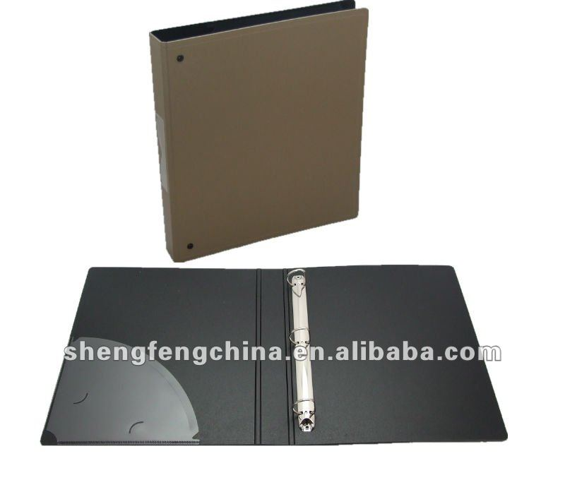 ring binder with pocket