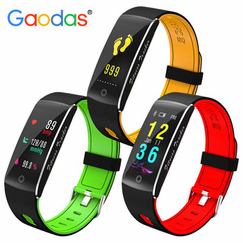 0cdbf546a50c F10 banda inteligente pantalla a Color Fitness Tracker Smartband IP68  impermeable Control remoto deportes pulsera para