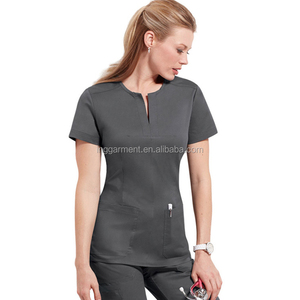 Women's Designed Nurse Scrub Top