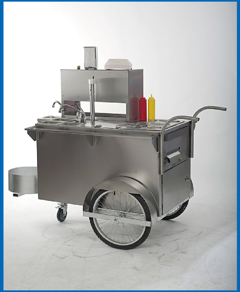 Mobile Kitchen Equipment New Style Mobile Food Hot Dog Cart With Kitchen Equipment Standing