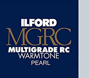 "Ilford Multigrade RC Warmtone Resin Coated VC Variable Contrast Black & White Enlarging Paper - 20x24"" - 50 Sheets - Pearl Surface"