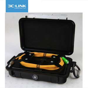 OTDR SM 1000m Fiber Rings Dead Zone Eliminator Launch Cable fiber testing Box with Customized Connector