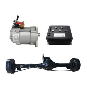 Shinegle Differential motor with rear axle 15kw 144v EV Car AC Induction Motor Speed Controller