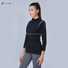 Low MOQ oem sexy women custom nylon spandex fitness wear wholesale yoga workout clothes