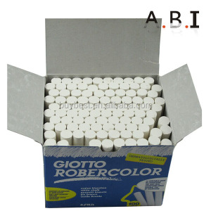 100 pcs White Color Dustless Chalk For School