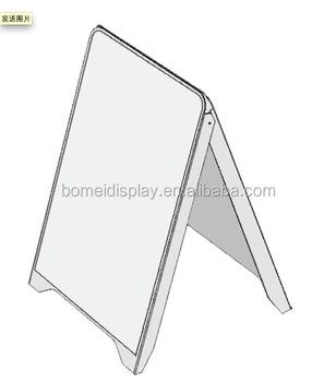 Portable Flex Plastic A Frame Signs Board