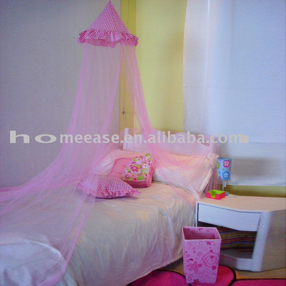 - Princess Mosquito Net/ Princess Bed Canopy With Printed Cotton