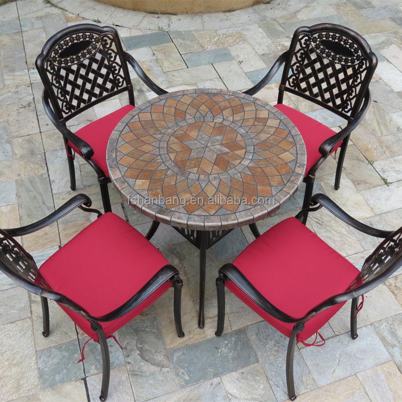Grossiste table ronde mosaique fer forgé-Acheter les meilleurs table ...