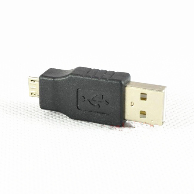 USB A Male to micro usb 5Pin Male Converter Mobile Connector