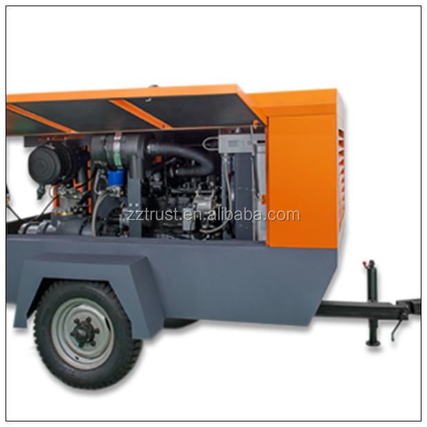 China portable sound insulation diesel engine piston air for Piston type air motor