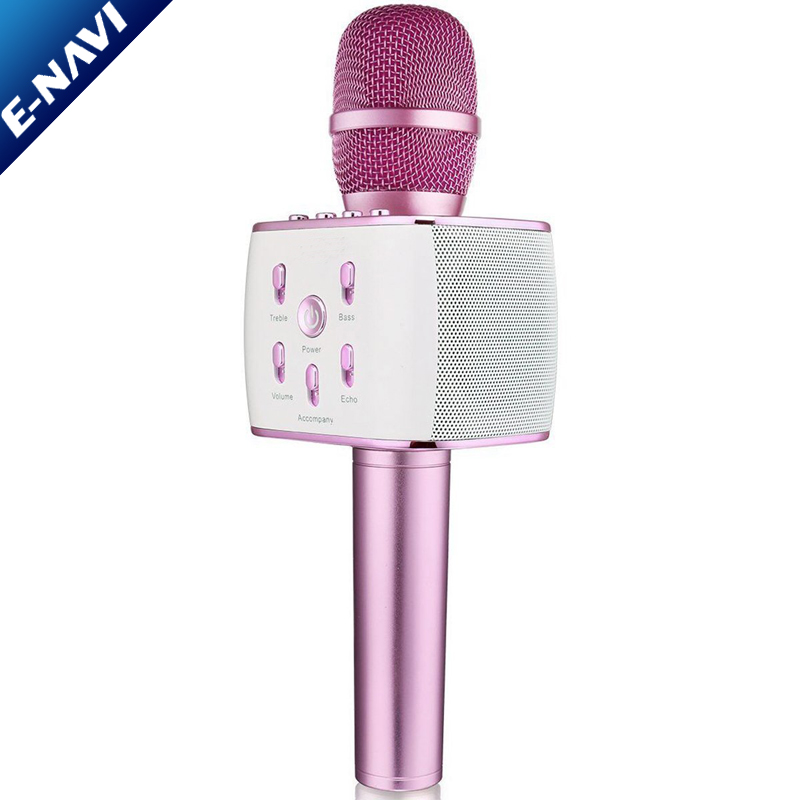 High Class Microphone Wireless Speaker Karaoke Player for Family Get-together Party