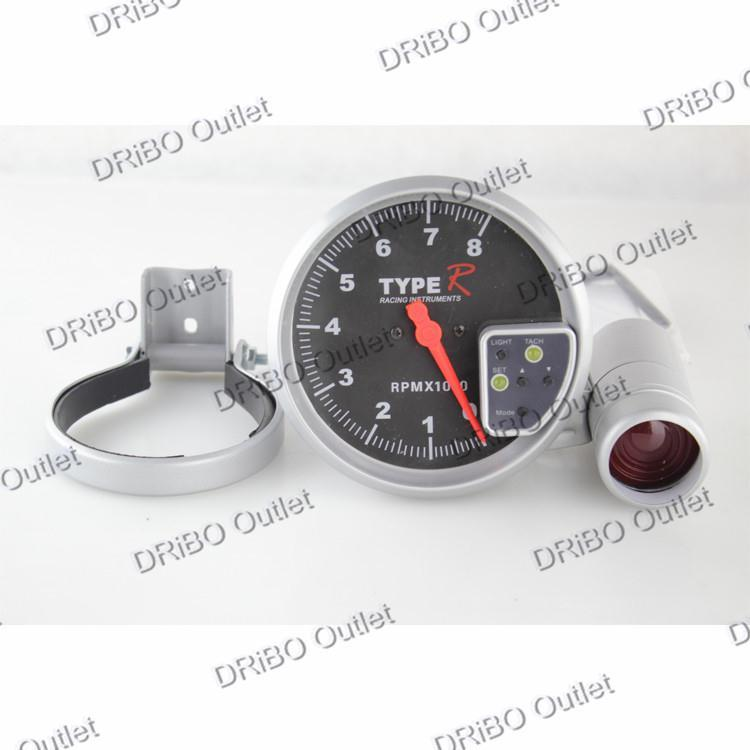 Cheap ac tachometer find ac tachometer deals on line at alibaba get quotations tachometer universal 5 black face tachometer 7 colors displaying 0 8000 rpmauto sciox Choice Image