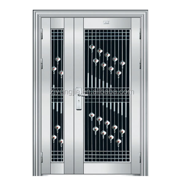 Promotion Home Security Stainless Steel Door Design Modern ...