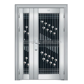 Promotion Home Security Stainless Steel Door Design Modern Stainless