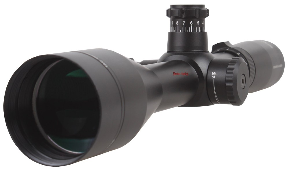 Vector Optics Reaper 4-14x50 Gun Tactical Rifle Scope with MP Reticle , Long Eye Relief Riflescope fit Bushmaster Remington