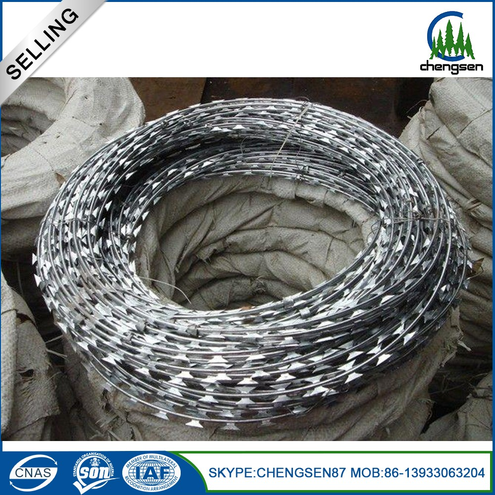 Professional factory galvanised barbed wire