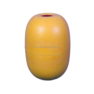 High Quality Commercial White Yellow DS0 PVC Fishing Float