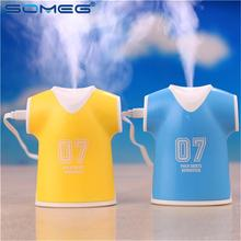 Polo Shirt Design Jersey Humidifier USB Air Purifier diffuser difusor de aroma mist maker fogger 100ml Aromatherapy Machine