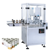 High Speed Fully Automatic Milk Powder Tin Can Sealing Machine