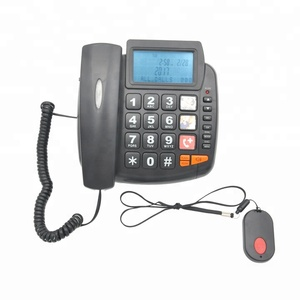 Guangdong High Quality Big Button SOS Emergency phones with Caller ID Function and Speakerphones Amplified for Seniors and Ki
