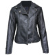 Ladies Jackets And Coats Lady Woman PU Leather Jacket Women Jackets And Coats