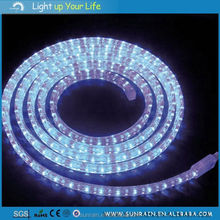 2016 Christmas Lights Sale Holiday Time White Garden Led Light Flat 3 Wires LED Rope Light