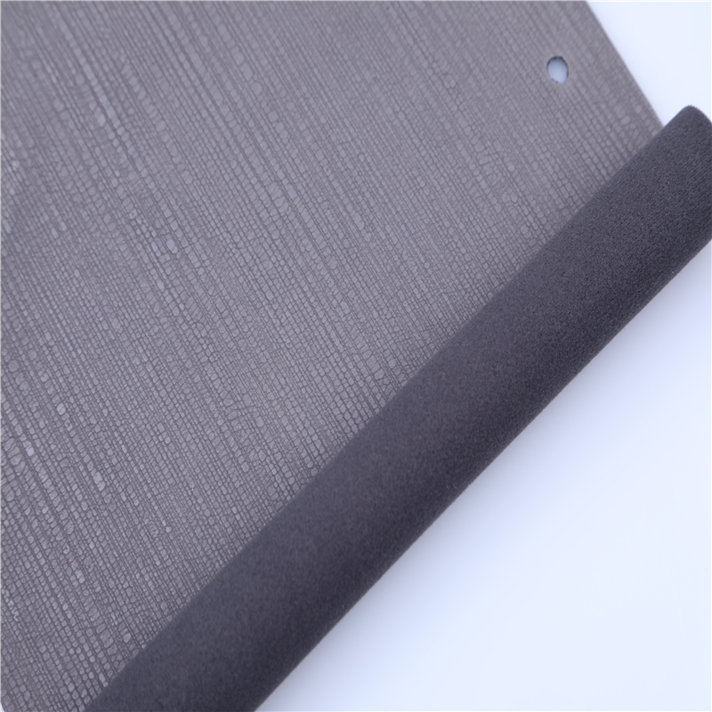 2017 free sample china pu leather manufacturer charcoal pattern pu leather material for upholstery goods