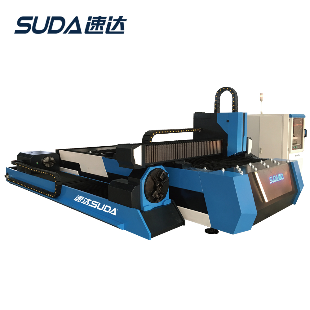 SUDA Brand 2000W IPG Source Fiber Laser Cutting Machine For <strong>Metal</strong> Factory